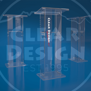 Standard Acrylic Knock Down Podium