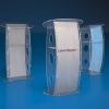 Acrylic Faceplate Podium