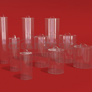 Clear Tubing Containers