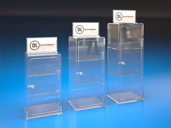 Counter Standing Display Case