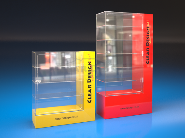 Counter Standing Highlight Display Case