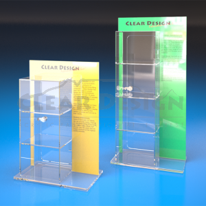 Counter Standing Highlight Display Case Standard