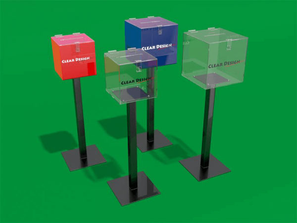 Free Standing Entry Box