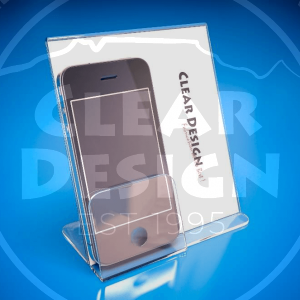 Single Cellphone Holder with Graphic Sleeve