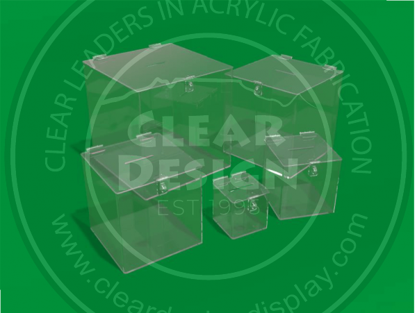 Standard Clear Entry Box