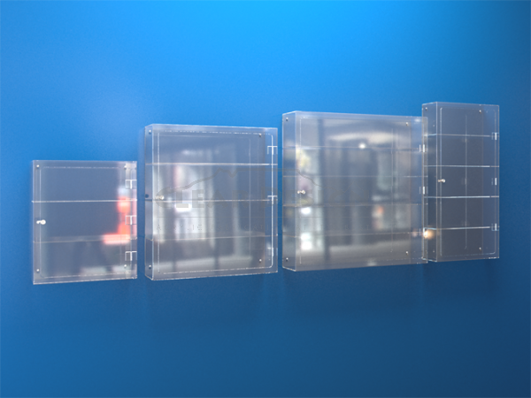 Wall Fixing Display Case