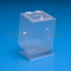 Small Square Spinning Box