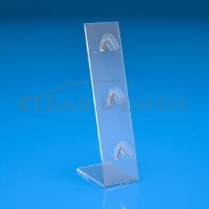 lean back spectacle display stand